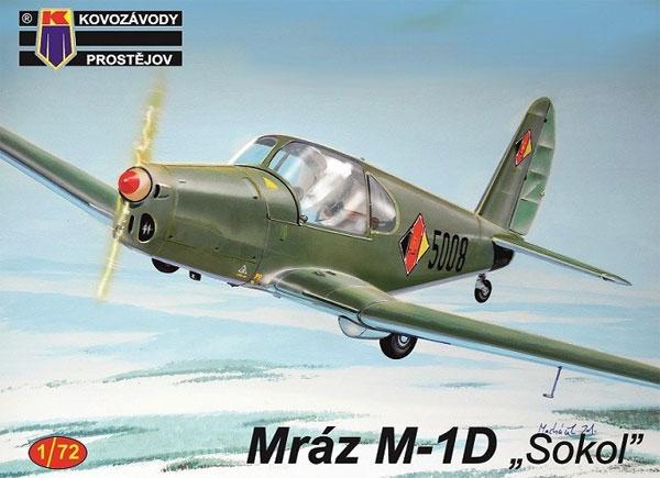 ムラーズ M-1D ソコルプラモデル(KPモデル1/72 エアクラフト プラモデルNo.KPM0156)商品画像