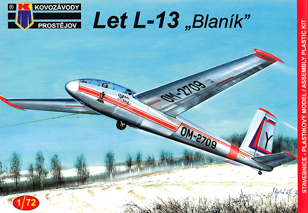 LET L-13 ブラニックプラモデル(KPモデル1/72 エアクラフト プラモデルNo.KPM0157)商品画像