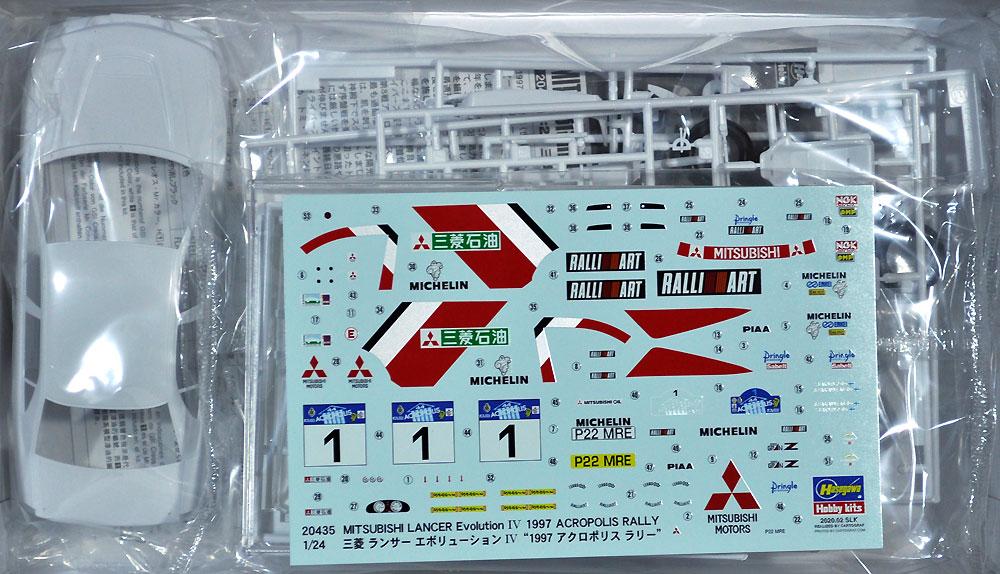 三菱 ランサー エボリューション 4 1997 アクロポリス ラリープラモデル(ハセガワ1/24 自動車 限定生産No.20435)商品画像_1