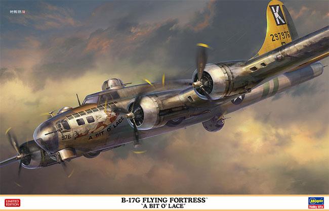 B-17G フライング フォートレス ア・ビット・オー・レースプラモデル(ハセガワ1/72 飛行機 限定生産No.02324)商品画像