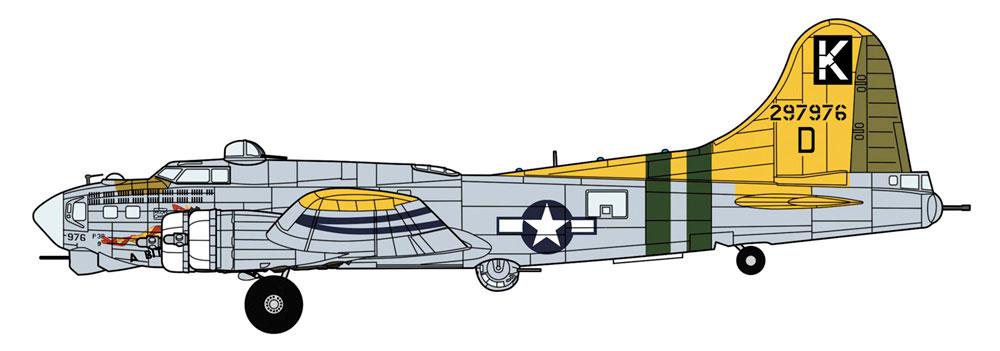 B-17G フライング フォートレス ア・ビット・オー・レースプラモデル(ハセガワ1/72 飛行機 限定生産No.02324)商品画像_2