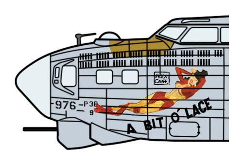 B-17G フライング フォートレス ア・ビット・オー・レースプラモデル(ハセガワ1/72 飛行機 限定生産No.02324)商品画像_3