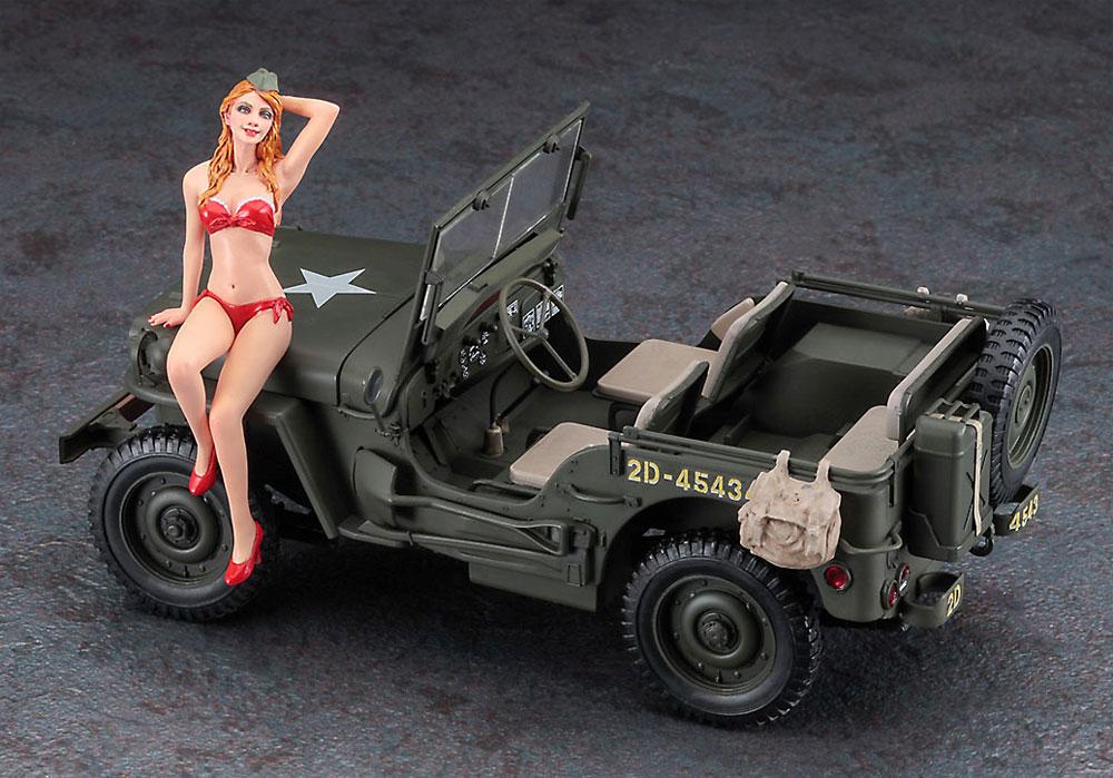 1/4トン 4×4 トラック w/ブロンドガールズフィギュアプラモデル(ハセガワ1/24 自動車 限定生産No.SP449)商品画像_3
