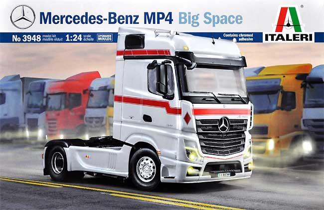 メルセデス ベンツ MP4 ビッグスペース ショウトラックプラモデル(イタレリ1/24 カーモデルNo.3948)商品画像