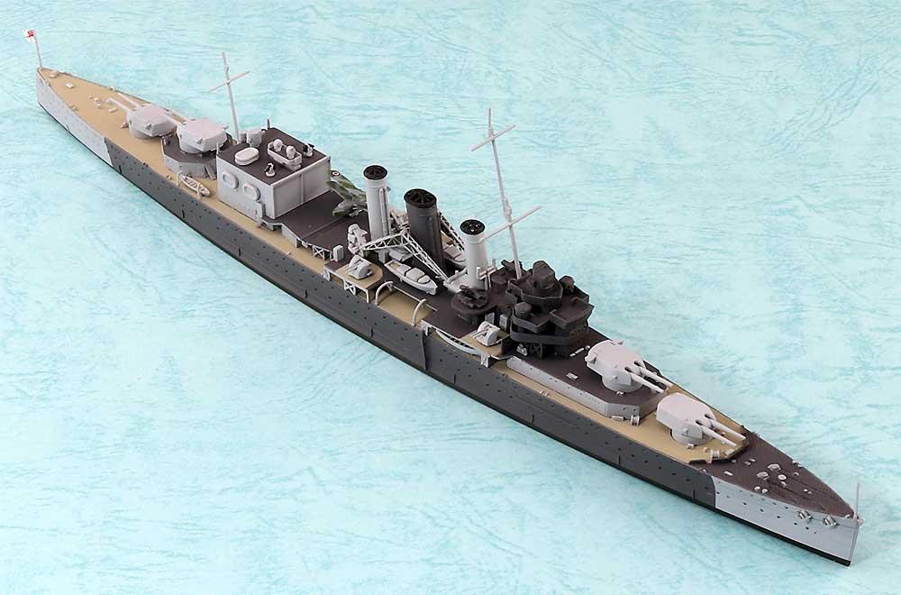 英国海軍 重巡洋艦 コーンウォールプラモデル(アオシマ1/700 ウォーターラインシリーズNo.810)商品画像_2