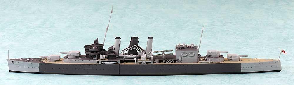 英国海軍 重巡洋艦 コーンウォールプラモデル(アオシマ1/700 ウォーターラインシリーズNo.810)商品画像_3