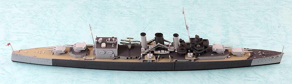 英国海軍 重巡洋艦 コーンウォールプラモデル(アオシマ1/700 ウォーターラインシリーズNo.810)商品画像_4