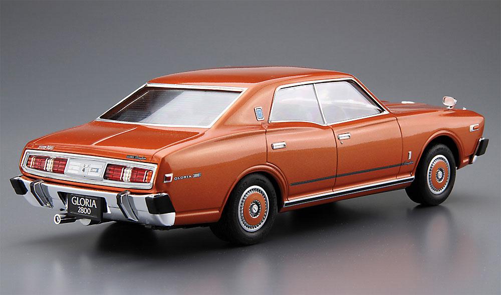 ニッサン P332 セドリック/グロリア 4HT 280E ブロアム '78プラモデル(アオシマ1/24 ザ・モデルカーNo.053)商品画像_3