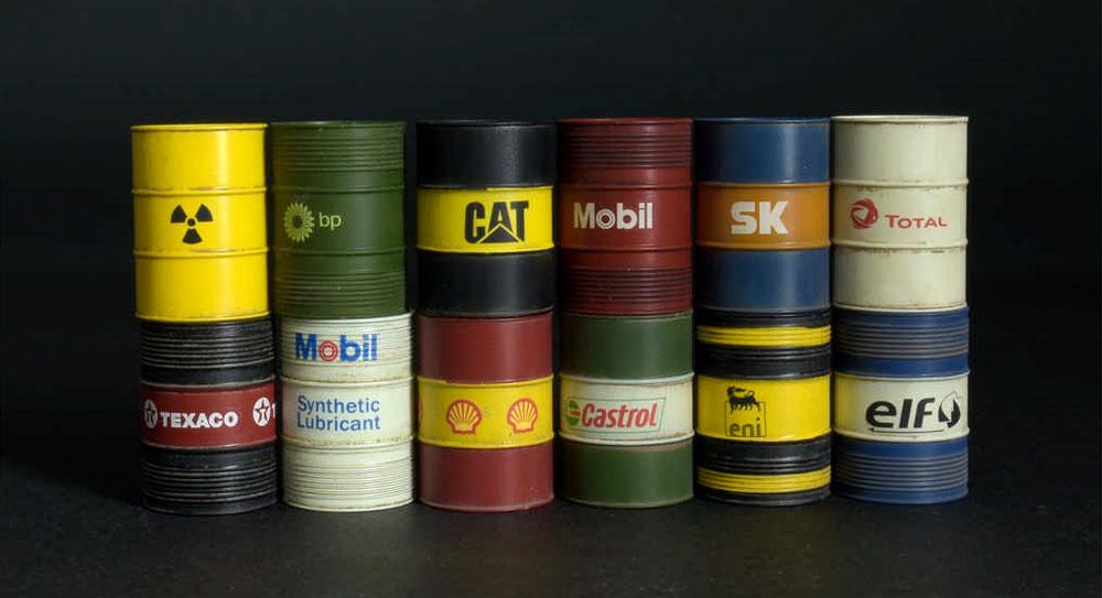現代のオイルドラム缶 200Lプラモデル(ミニアート1/35 ビルディング&アクセサリー シリーズNo.35615)商品画像_2