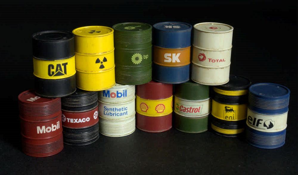 現代のオイルドラム缶 200Lプラモデル(ミニアート1/35 ビルディング&アクセサリー シリーズNo.35615)商品画像_3