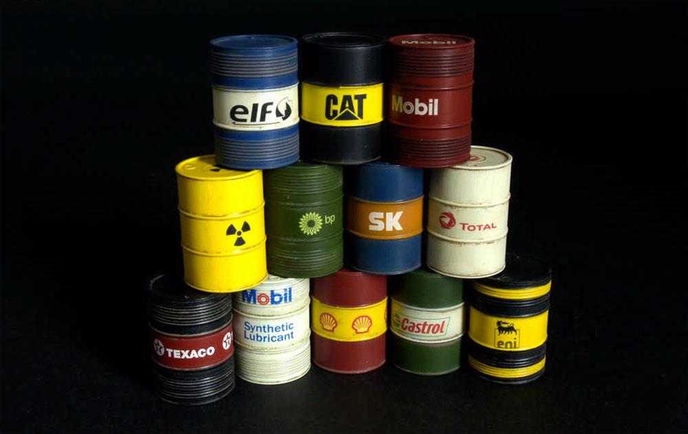 現代のオイルドラム缶 200Lプラモデル(ミニアート1/35 ビルディング&アクセサリー シリーズNo.35615)商品画像_4