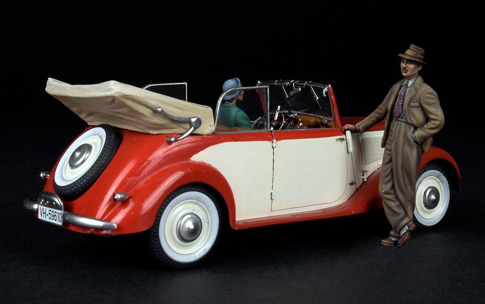 ドイツ タイプ170V カブリオレBプラモデル(ミニアート1/35 ミニチュアシリーズNo.38018)商品画像_4