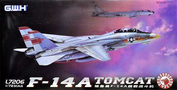 アメリカ海軍 F-14A トムキャット 艦上戦闘機プラモデル(グレートウォールホビー1/72 エアクラフト プラモデルNo.L7206)商品画像