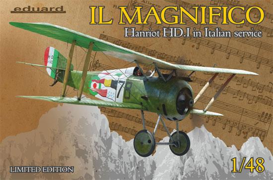 アンリオ HD.1 イタリア軍プラモデル(エデュアルド1/48 リミテッドエディションNo.11139)商品画像