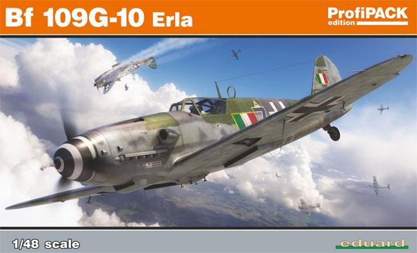 メッサーシュミット Bf109G-10 エルラプラモデル(エデュアルド1/48 プロフィパックNo.82164)商品画像