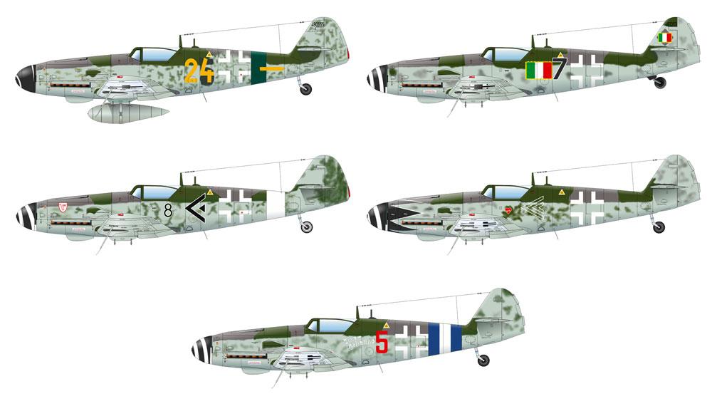 メッサーシュミット Bf109G-10 エルラプラモデル(エデュアルド1/48 プロフィパックNo.82164)商品画像_3