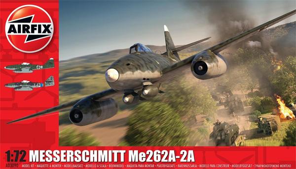 メッサーシュミット Me262A-2aプラモデル(エアフィックス1/72 ミリタリーエアクラフトNo.A03090)商品画像