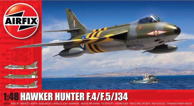 ホーカー ハンター F.4/F.5/J34プラモデル(エアフィックス1/48 ミリタリーエアクラフトNo.A09189)商品画像