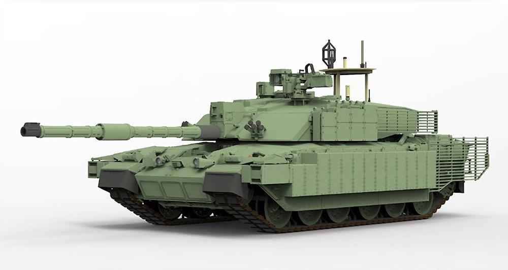イギリス主力戦車 チャレンジャー 2 TES メガトロンプラモデル(ライ フィールド モデル1/35 Military Miniature SeriesNo.5039)商品画像_3