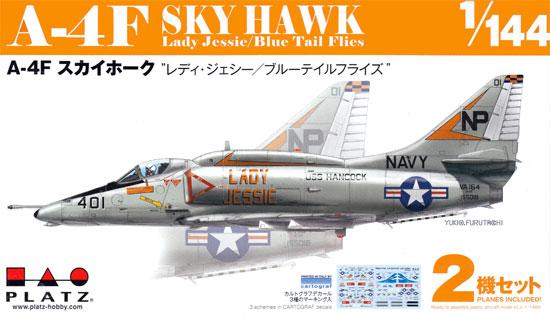 A-4F スカイホーク レディ ジェシー/ブルーテイルフライズプラモデル(プラッツ1/144 プラスチックモデルキットNo.PDR-008)商品画像
