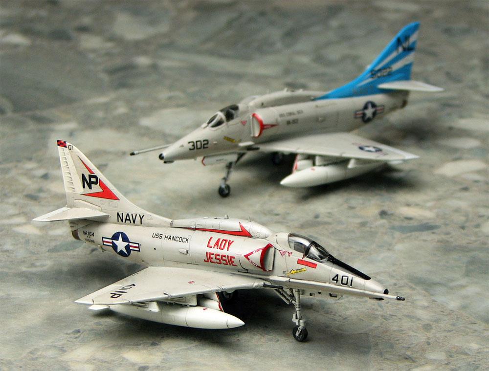 A-4F スカイホーク レディ ジェシー/ブルーテイルフライズプラモデル(プラッツ1/144 プラスチックモデルキットNo.PDR-008)商品画像_3