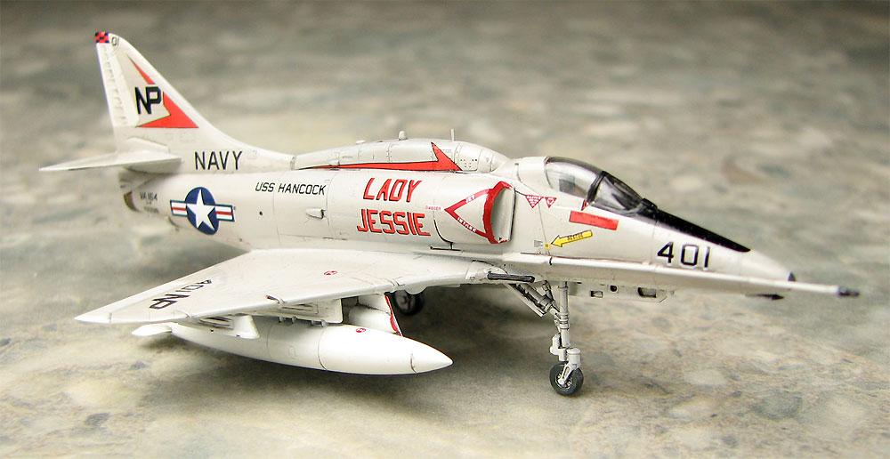 A-4F スカイホーク レディ ジェシー/ブルーテイルフライズプラモデル(プラッツ1/144 プラスチックモデルキットNo.PDR-008)商品画像_4