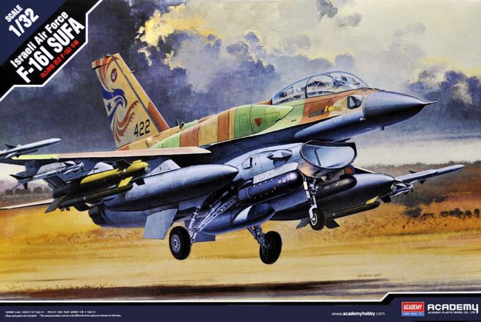 イスラエル空軍 F-16I スーファプラモデル(アカデミー1/32 Scale AircraftNo.12105)商品画像