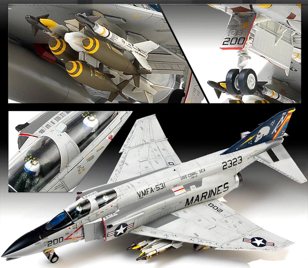 USMC F-4B/N ファントム 2 VMFA-531 グレイゴーストプラモデル(アカデミー1/48 Scale AircraftsNo.12315)商品画像_1