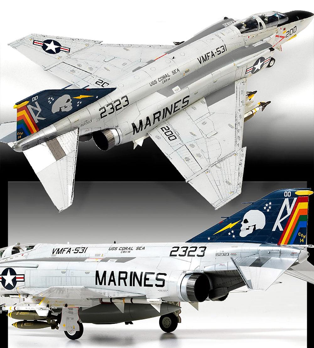 USMC F-4B/N ファントム 2 VMFA-531 グレイゴーストプラモデル(アカデミー1/48 Scale AircraftsNo.12315)商品画像_4
