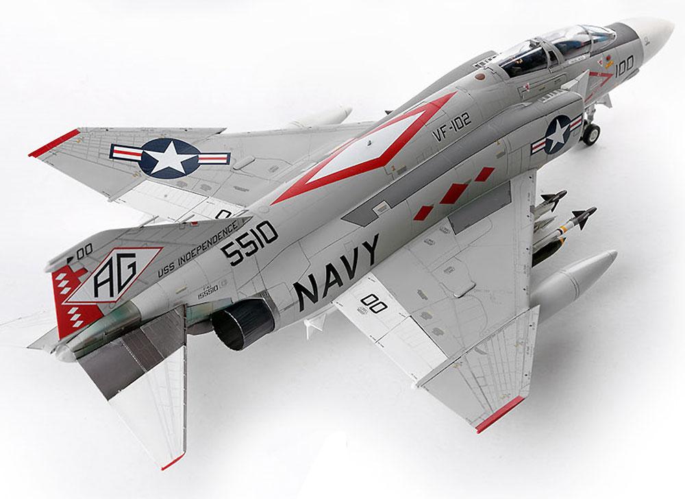 USN F-4J ファントム 2 VF-102 ダイヤモンドバックスプラモデル(アカデミー1/48 Scale AircraftsNo.12323)商品画像_3