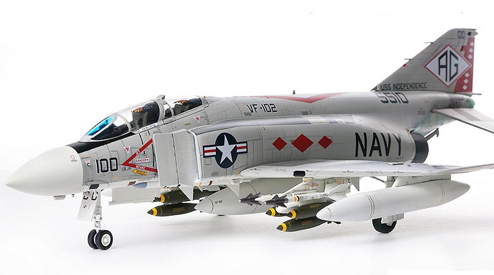 USN F-4J ファントム 2 VF-102 ダイヤモンドバックスプラモデル(アカデミー1/48 Scale AircraftsNo.12323)商品画像_4