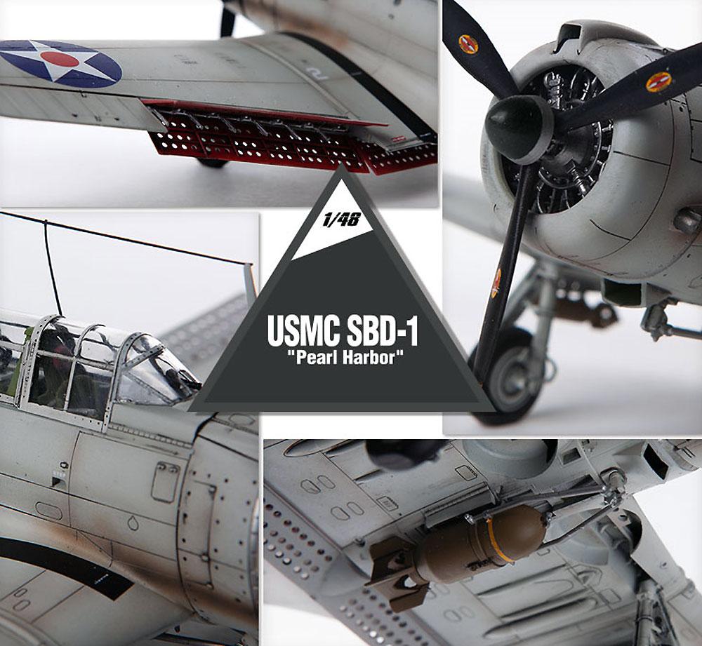 USMC SBD-1 ドーントレス パールハーバープラモデル(アカデミー1/48 Scale AircraftsNo.12331)商品画像_1