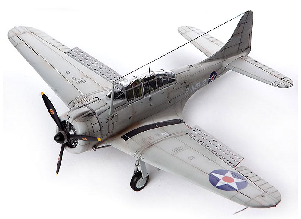 USMC SBD-1 ドーントレス パールハーバープラモデル(アカデミー1/48 Scale AircraftsNo.12331)商品画像_3
