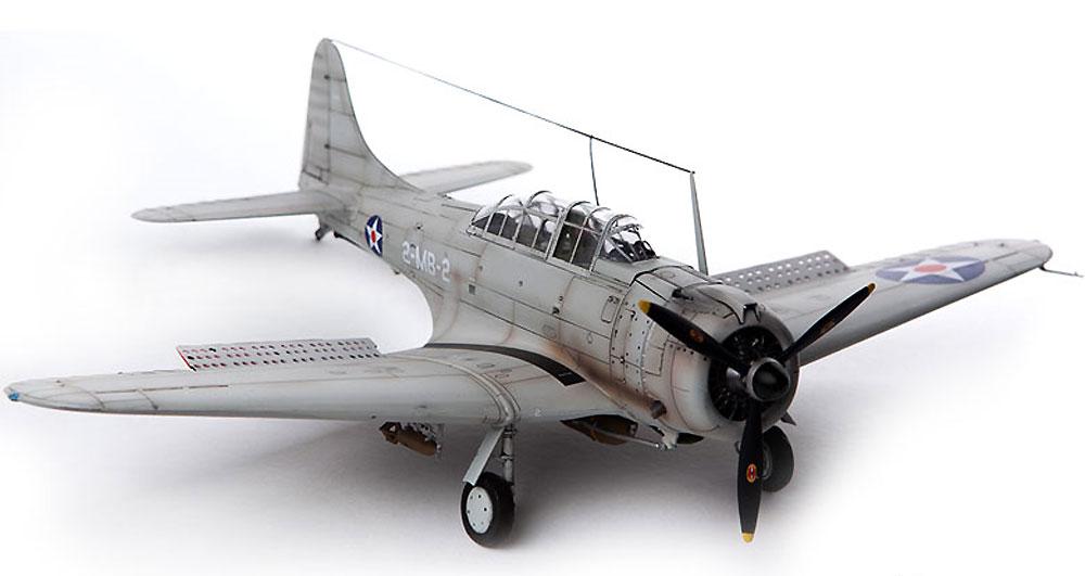 USMC SBD-1 ドーントレス パールハーバープラモデル(アカデミー1/48 Scale AircraftsNo.12331)商品画像_4