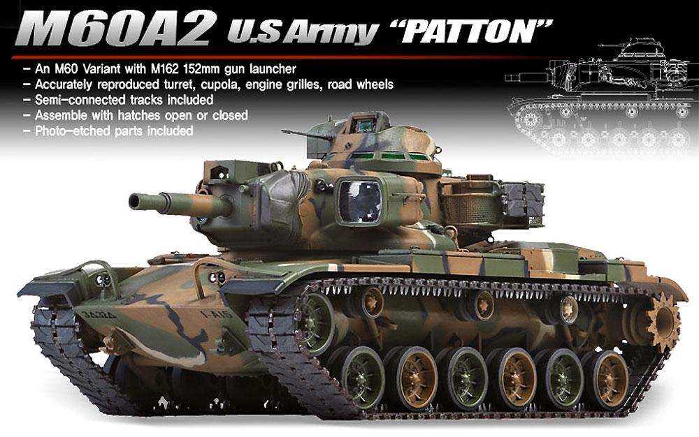 M60A2 パットンプラモデル(アカデミー1/35 ArmorsNo.13296)商品画像_2