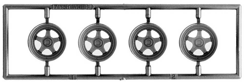 OZレーシング 17インチプラモデル(フジミホイール シリーズNo.104)商品画像_1
