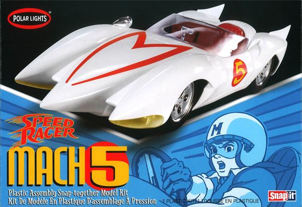マッハ号 (SPEED RACER)プラモデル(ポーラライツプラスチックモデルキットNo.POL981M/12)商品画像