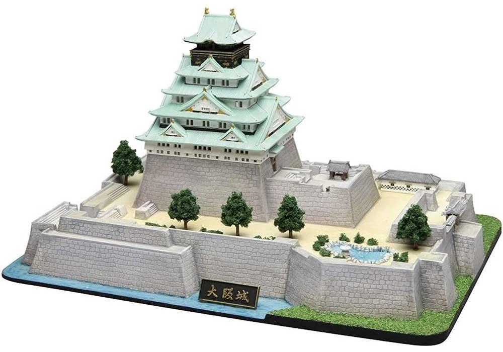 大阪城プラモデル(フジミ名城シリーズNo.004)商品画像_3