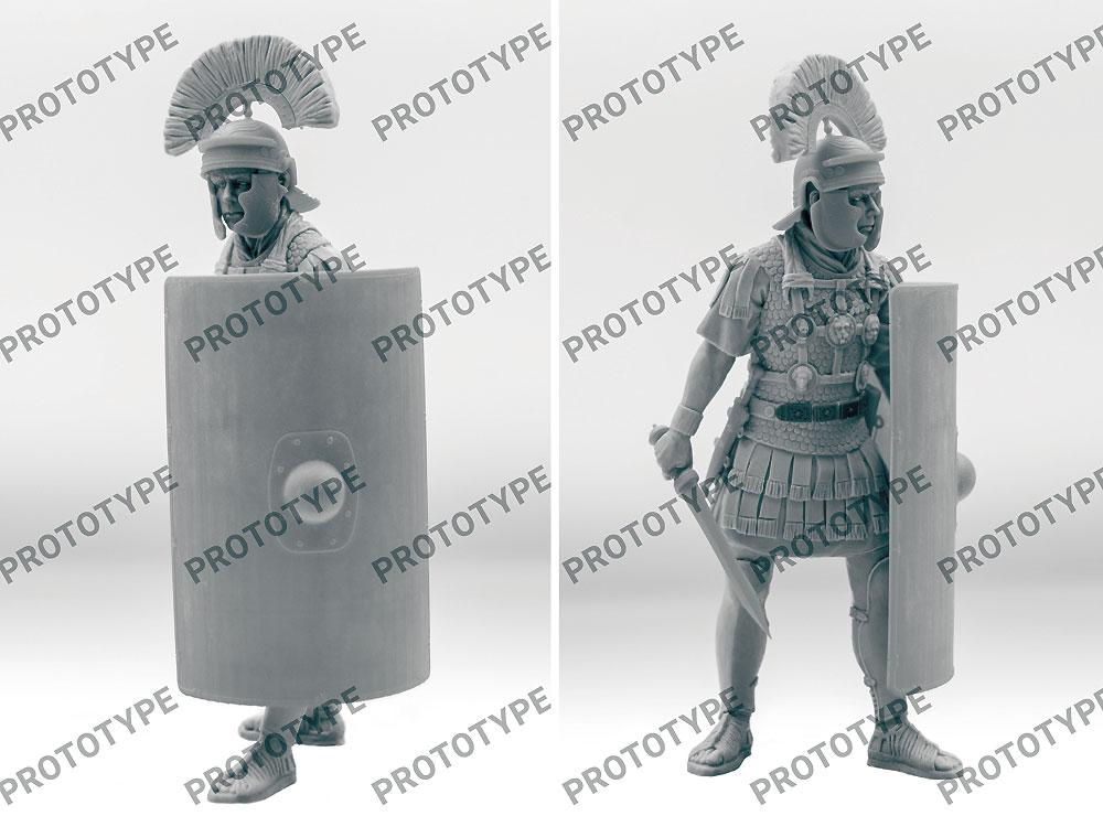 古代ローマ 百人隊長 (1世紀)プラモデル(ICM1/16 フィギュアNo.16302)商品画像_2