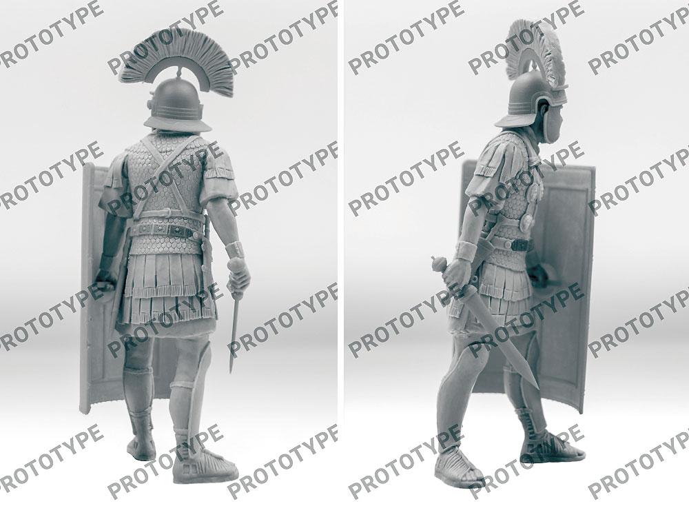 古代ローマ 百人隊長 (1世紀)プラモデル(ICM1/16 フィギュアNo.16302)商品画像_3