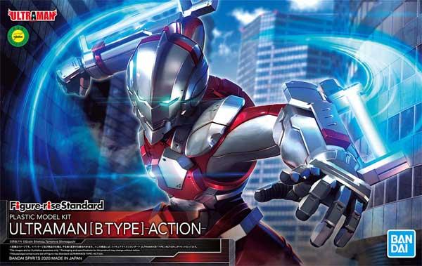 ULTRAMAN B TYPE -ACTION-プラモデル(バンダイフィギュアライズ スタンダードNo.5059537)商品画像
