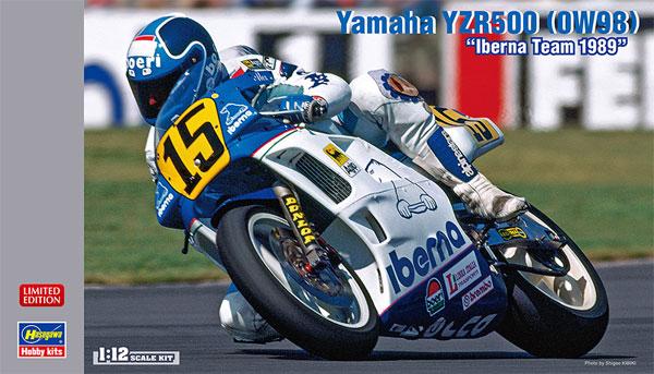 ヤマハ YZR500 (0W98) イベルナチーム 1989プラモデル(ハセガワ1/12 バイクシリーズNo.21724)商品画像