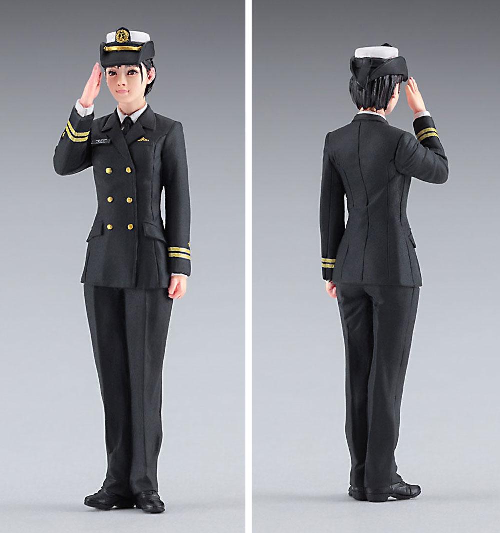 海上自衛隊 護衛艦 みょうこう w/女性自衛官 フィギュアプラモデル(ハセガワ1/700 ウォーターラインシリーズNo.SP452)商品画像_3