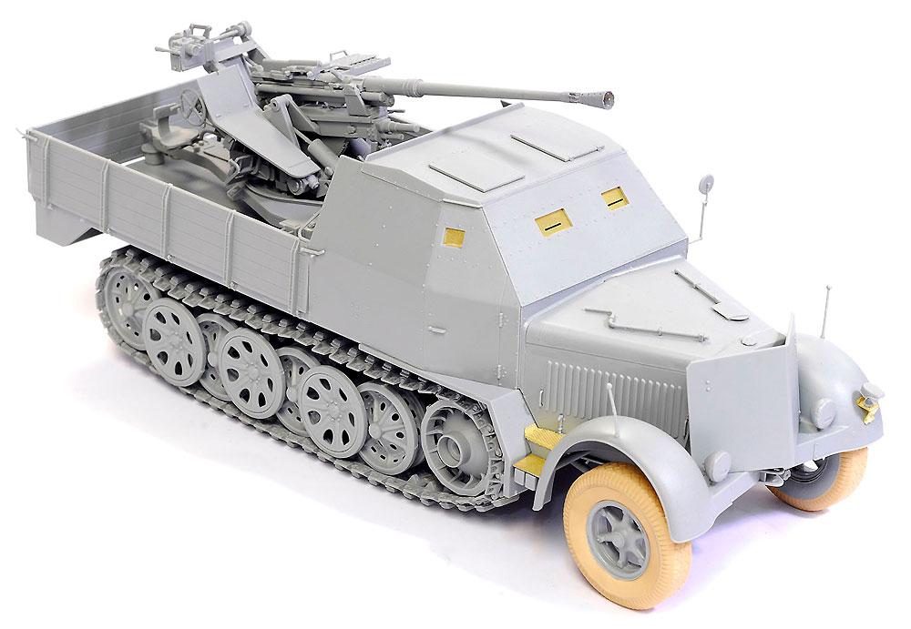 ドイツ Sd.Kfz.7/2 8トン ハーフトラック 3.7cm Flak37搭載型 アーマードキャビン / 3.7cm Flak36 搭載型プラモデル(ドラゴン1/35 '39-'45 SeriesNo.6953)商品画像_2