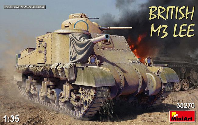 イギリス軍 M3 LEEプラモデル(ミニアート1/35 WW2 ミリタリーミニチュアNo.35270)商品画像
