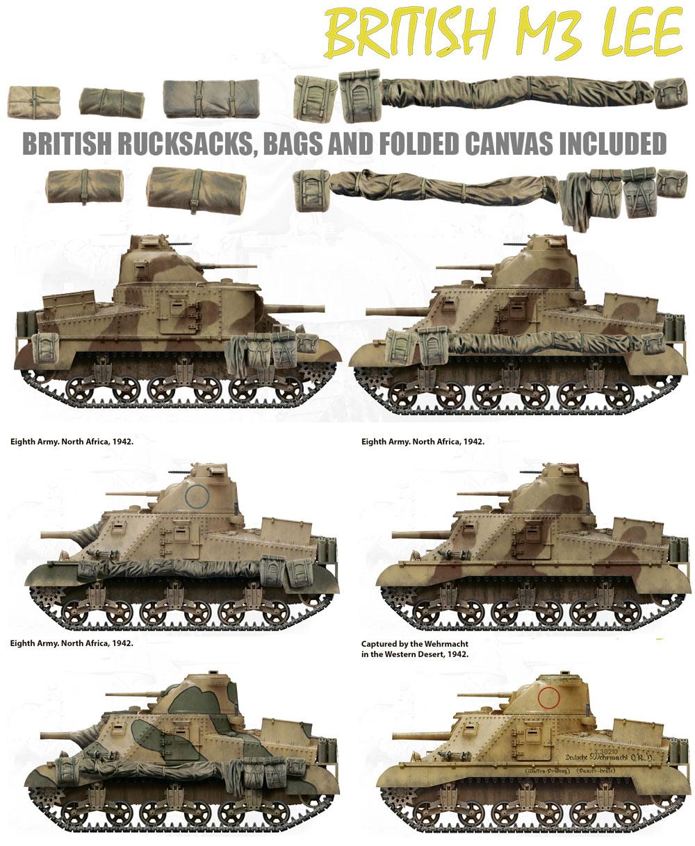 イギリス軍 M3 LEEプラモデル(ミニアート1/35 WW2 ミリタリーミニチュアNo.35270)商品画像_1
