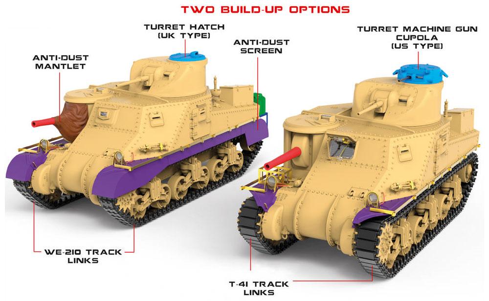 イギリス軍 M3 LEEプラモデル(ミニアート1/35 WW2 ミリタリーミニチュアNo.35270)商品画像_2