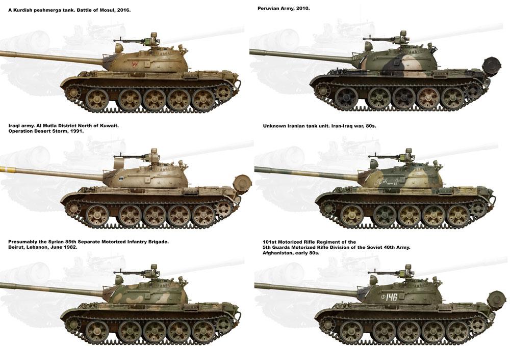T-55 Mod.1970 w/OMSh 履帯プラモデル(ミニアート1/35 ミリタリーミニチュアNo.37064)商品画像_1
