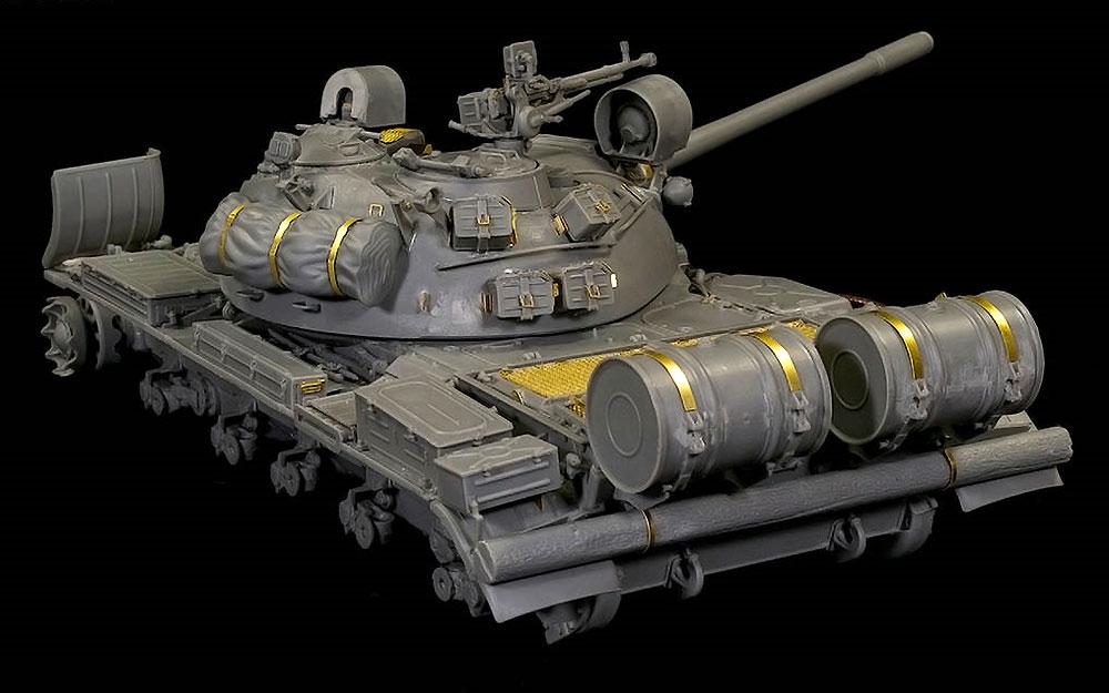 T-55 Mod.1970 w/OMSh 履帯プラモデル(ミニアート1/35 ミリタリーミニチュアNo.37064)商品画像_3