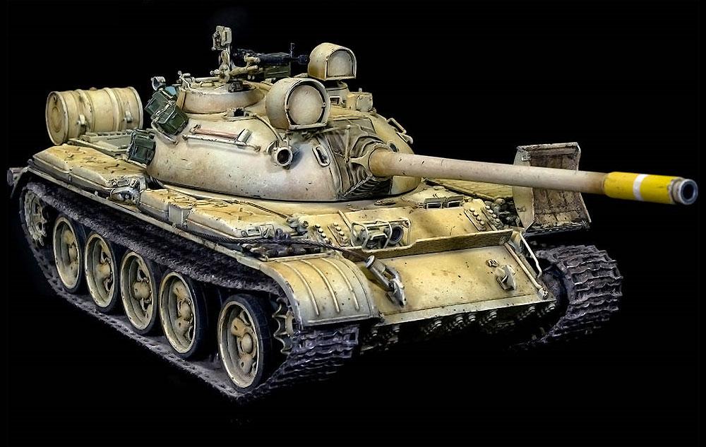 T-55 Mod.1970 w/OMSh 履帯プラモデル(ミニアート1/35 ミリタリーミニチュアNo.37064)商品画像_4